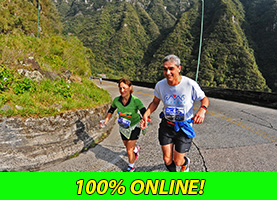 Mizuno Uphill Marathon 25 Km Treviso 2016 - Lauro Muller