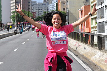 Caminhada Outubro Rosa - São Paulo