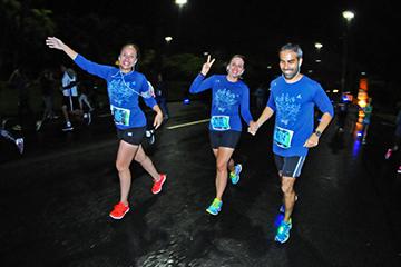 Night run Rio de Janeiro