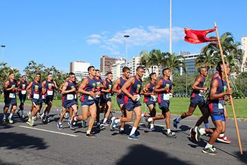 Corrida  do  Corpo de Fuzileiros e Intendentes da Marinha - Rio de Janeiro