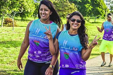 2º Caminha RH Fanese no Parque da Sementeira 2017 - Aracaju