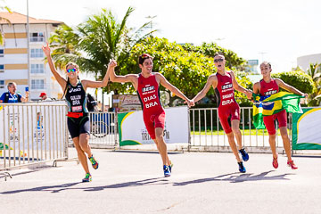 World Schools Championship Triathlon Relay 2017 - Aracaju