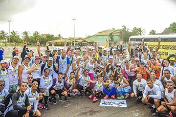 Corrida Rustica do Núcleo de Combate ao Sedentarismo da PMSE 2017 - Aracaju