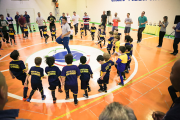 Pró Kids - apresentação de Futsal - Santo André