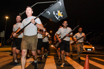 Corrida Noturna do 1º Batalhão de Polícia Militar de Itajai 2017