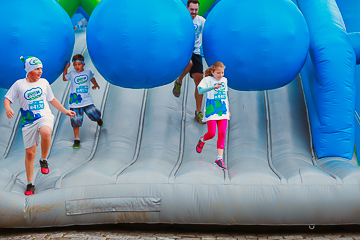 Insane Inflatable Run 5K 2017 - Blumenau