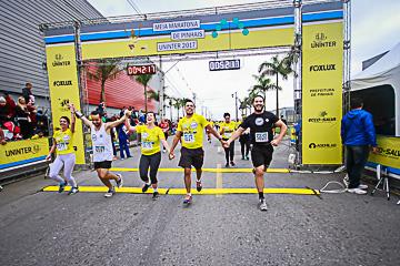 Meia Maratona  Uninter  2017 - Pinhais