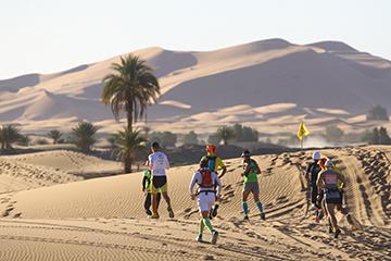 Mountain Do Deserto do Sahara 2017