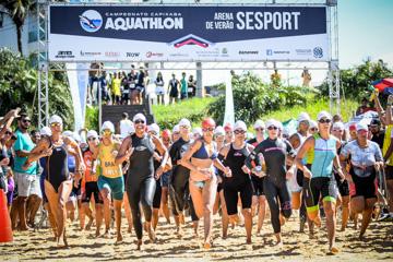 Campeonato Capixaba de Aquathlon 2018 - Guarapari