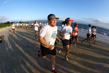 Rei e Rainha do Mar - Beach Run 2018 -  Florianópolis