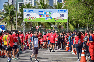 Santander Track&Field Run Series 2018 - Kids - Shopping Recife